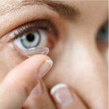 Manage keratoconus using contact lenses